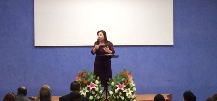 Visita Hermana María Luisa a la Iglesia en Popotla.