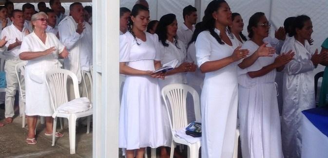 Bautismos en Fortul, Arauca Octubre