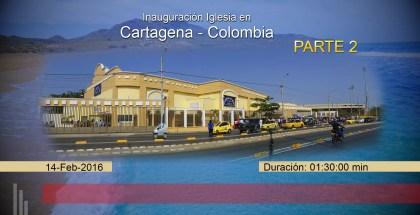 Ouverture Cartagena, Colombia Partie 2