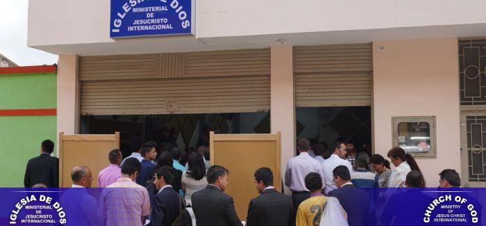 Inauguración de la Iglesia en San Juan de Rioseco (Cundinamarca, Colombia)- Noviembre 2016