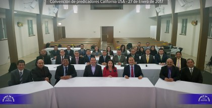 Photo of the Preachers' Convention in California, USA – Jan. 27, 2017