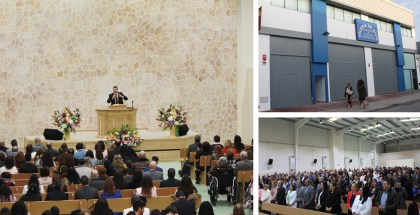 Inauguration of the New Church Location in Sevilla, Spain