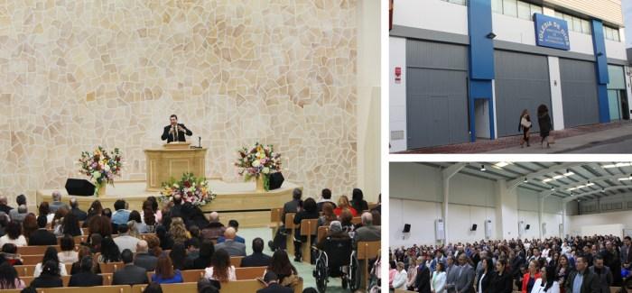 Inauguración de nuevo templo en la Iglesia de Sevilla (España)
