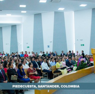 Inauguration of New Location Purchased by the Church in Piedecuesta, Colombia (Gallery)