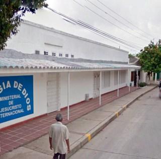 """Anuncio Iglesia """"La Loma"""", Soledad, Atlántico (Colombia)"""