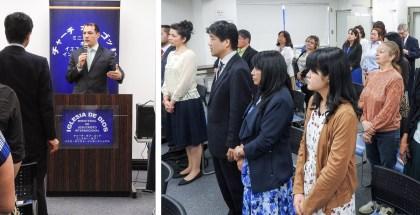 Visita a la Iglesia de Japón – Abril 2017