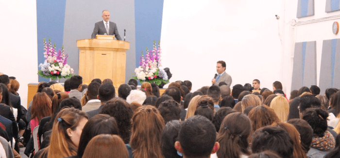 Photos of the Visit of Brother Andres Carrillo to the Church in Buenos Aires, Argentina – May 2017