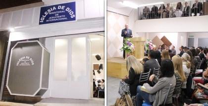 Inauguración: Iglesia en la ciudad de La Plata, Buenos Aires, Argentina