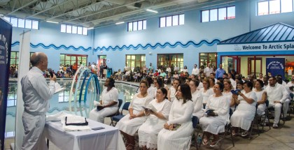 Fotos de los bautismos en Chicago (Estados Unidos) – Junio de 2017