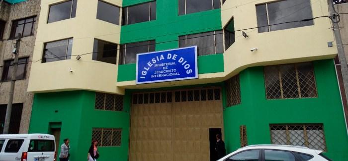 Fotos nuevo local temporal Iglesia del barrio Santander – Bogotá (Colombia)