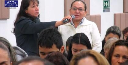 Testimonio de sanidad en la Iglesia del Barrio Santander, Bogotá (Julio 2017)