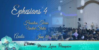Efesios 4 – Houston Texas USA