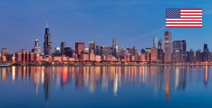 Notice: Church in Chicago, Illinois, USA –August 2017