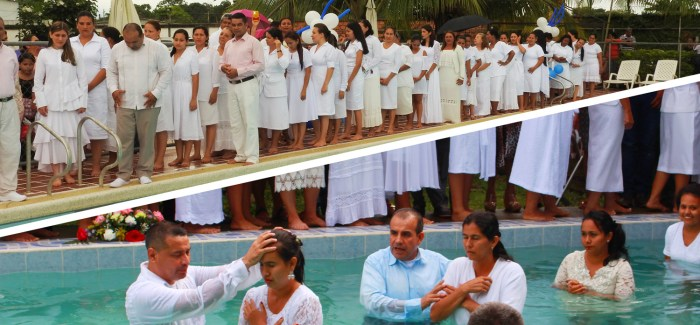 Water Baptisms in Arauca, Colombia – August 2017