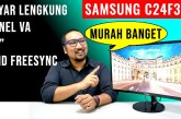 [Review Monitor] Samsung C24F390 by Jagat Review