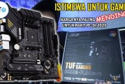 [Review Motherboard] Review  ASUS TUF Gaming B550M-Plus (Wi-Fi) By Sekilas IT