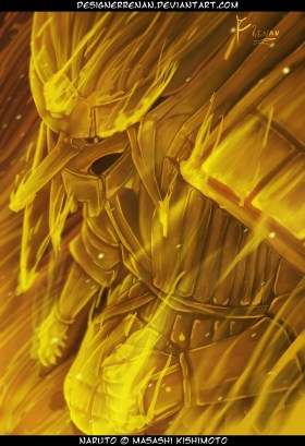 Kakashi Perfect Susanoo Gold