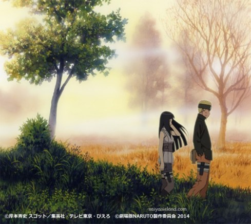 Naruto dan Hinata The Last Naruto The Movie