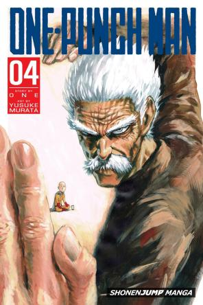 OnePunch-Man Cover 4