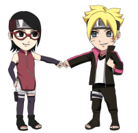 Commission boruto and sarada by nattouh