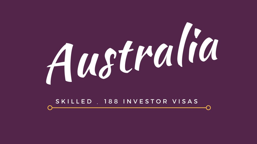 Australia Immigration Visa Options
