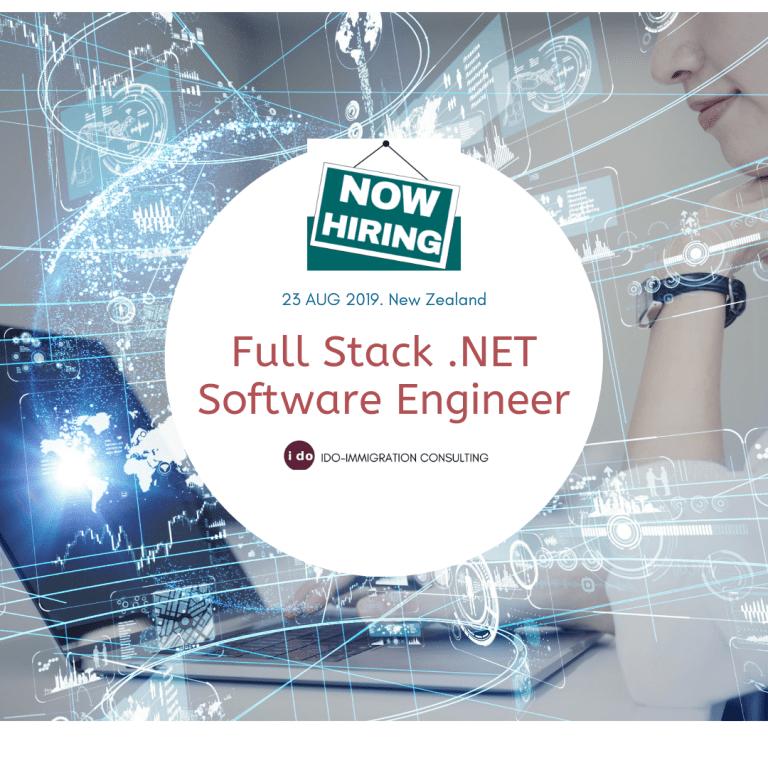 招聘:紐西蘭 Full Stack .NET Software Engineer