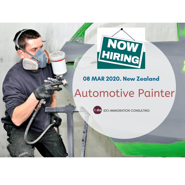 招聘:紐西蘭 汽車噴漆 (Automotive Painter)