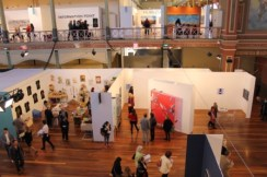 Melbourne Art Fair August 2014 at Royal Exhibition Building Melbourne Australia Photo taken by Karen Robinson whilst visiting IMG_0470.JPG
