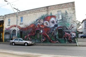 2. Melbourne Street Art - Fitzroy North Sept 2014 Photo graphed by Karen Robinson.JPG
