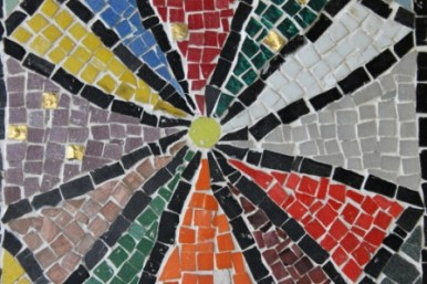No. 24 of 70 images of MIRKA MORA'S FLINDERS ST STATION MURAL – Melbourne Australia Photographed by Karen Robinson 18th April 2015 NB All images are subject to copyright laws