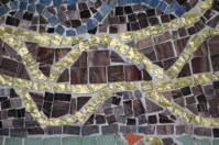 No. 48 of 70 images of MIRKA MORA'S FLINDERS ST STATION MURAL – Melbourne Australia Photographed by Karen Robinson 18th April 2015 NB All images are subject to copyright laws
