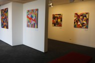 No. 36 - 'When words are hard to find' Solo Exhibition of Karen Robinson 6.5.15 Gallery ready for Opening night at Gee Lee-Wik Doleen Gallery for Exhibition.JPG