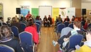 No. 1 of 3 Creative Conversations with Regional Arts Victoria - Panel Discussion with Speakers and Audience - Photographed by Karen Robinson - Abstract Artist 10th July 2015.JPG