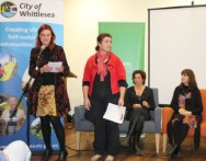 No. 3 of 3 Creative Conversations with Regional Arts Victoria - Panel Discussion with Speakers and Audience - Photographed by Karen Robinson - Abstract Artist 10th July 2015.JPG