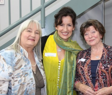 At RTSSV celebrating 21 years with Karen Robinson (left), Gillian Scaduto (middle) and Ann Bougen Lewis (right) 27.11.2015 NB All images are copyright protected.JPG