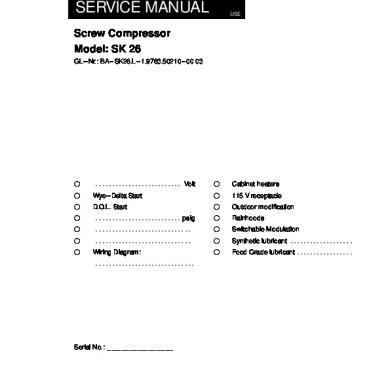 Kaeser Sk-26 Technical Manual.pdf [34wm8wqowzl7]