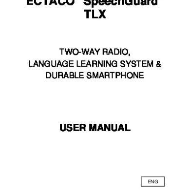 Ectaco Speechguard Tlx [d49odkpx2149]