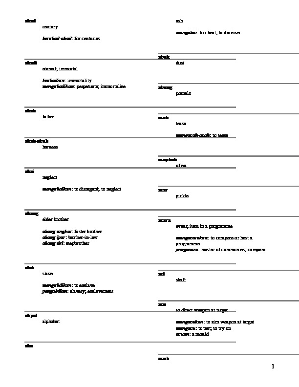 Dengar Dan Download Suara Belalang Kecek Biasa : dengar, download, suara, belalang, kecek, biasa, Malay, English, Dictionary, [8x4e1g55yl3j]