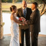 Austin Wedding Officiant Ceremony at Avery Ranch