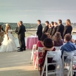 Austin Officiant and wedding party at Lakeway Spa