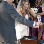 Wine Box Ceremony Austin Wedding