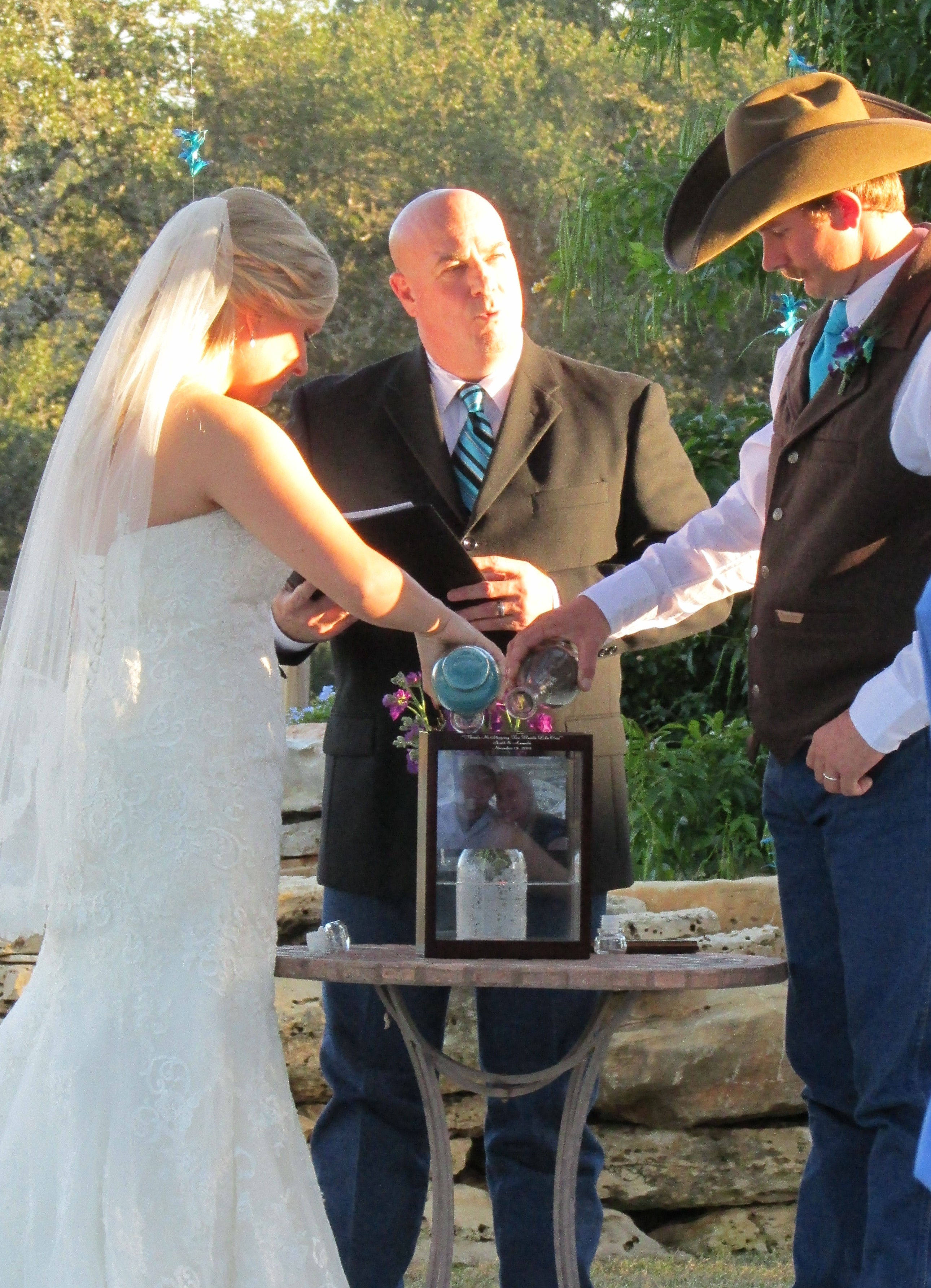 Unity ceremonies - Austin Wedding Officiant I Do Ceremonies