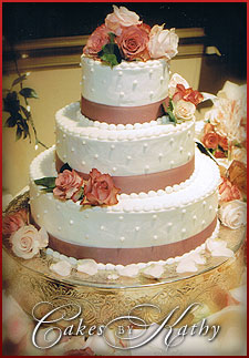 Wedding Cakes by Kathy