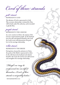 Cord of Three Strands Ceremony