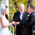 Wedding Officiant bride and groom