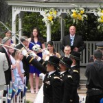 Austin Officiant Review Military Wedding at Chateau on the Creek Round Rock