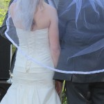 Unity Veil Ceremony Austin Wedding Officiant bride and groom