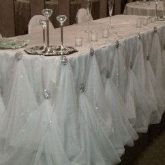 Party Decorations Chair Covers Bubble Hanging Diy Broach-gathered Table Skirt  