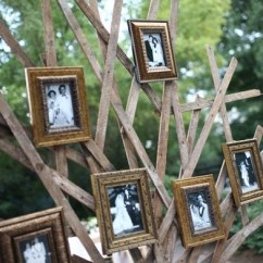 Chair Covers Diy Swivel Accessories Family Tree Photo Display |