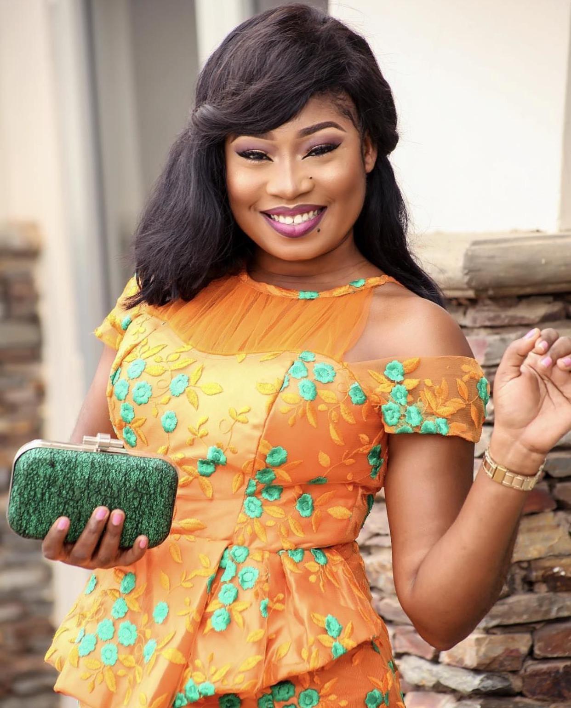 CELEBRITY MUA NANCY BLAQ IS MARRIED  I do Ghana